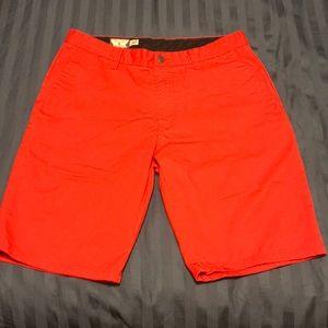 Volcom Red Golf Short W32
